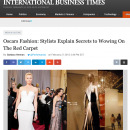 Jesse Garza's Oscar Commentary in the International Business Times