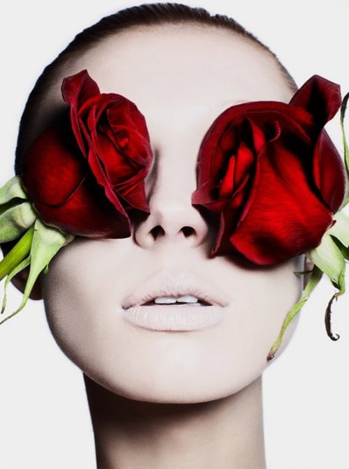 valentines day vogue roses