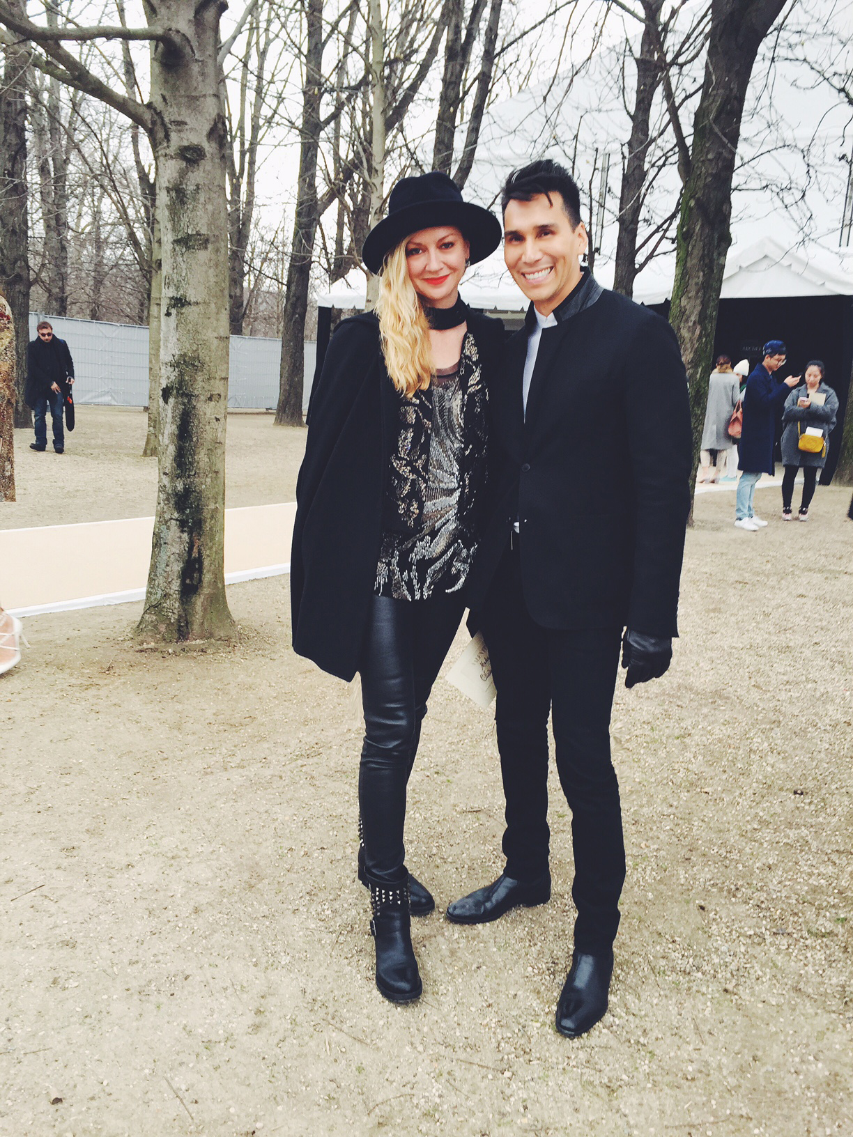 Paris Fashion Week Dairy: Lisa Marie's Look Transformation from Valentino to McQueen