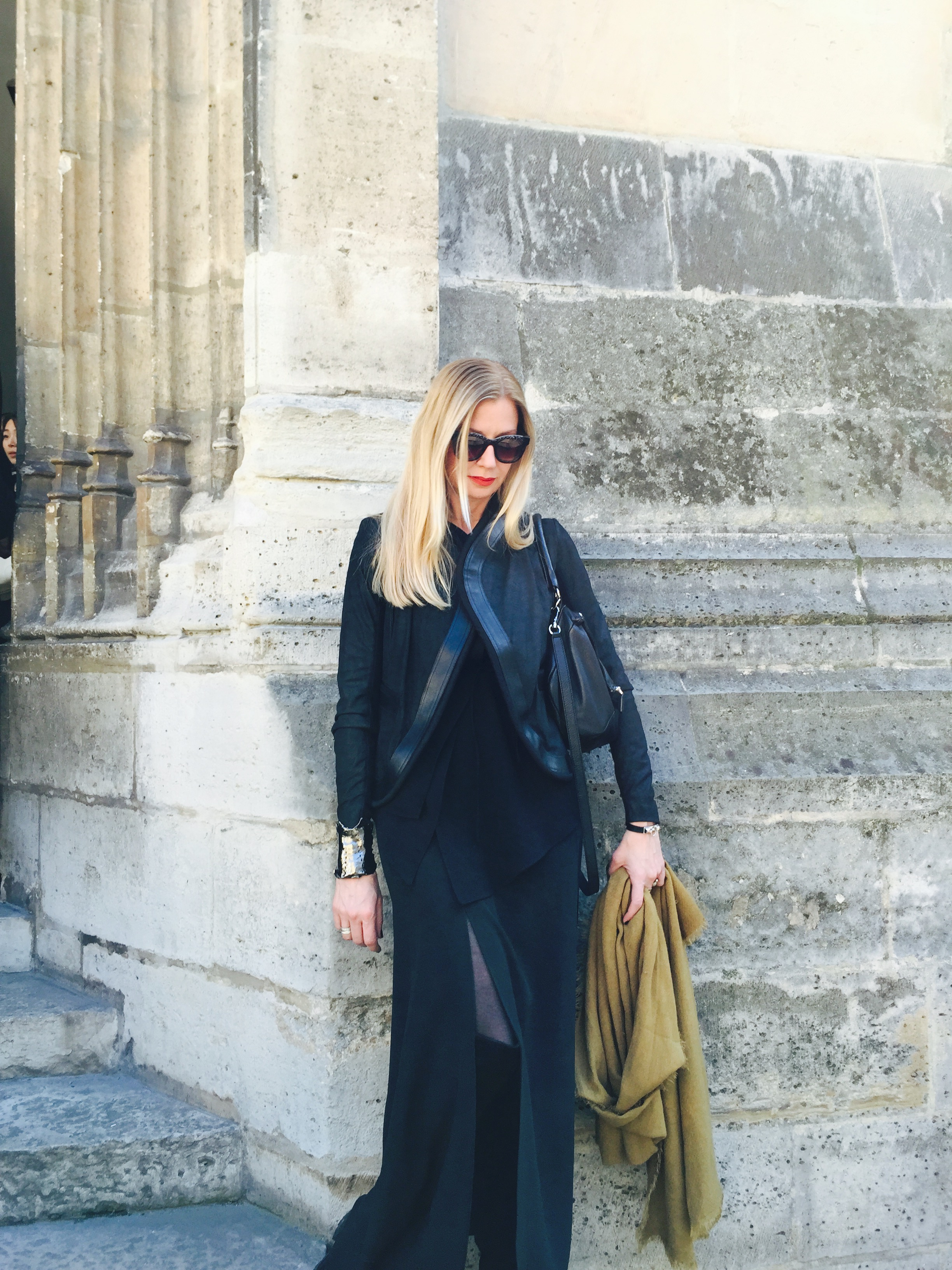 Lisa Marie McComb in Paris