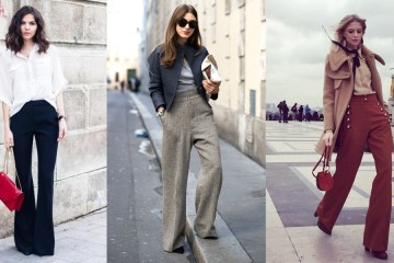 Wide Leg Flare Pants trend fall 2015