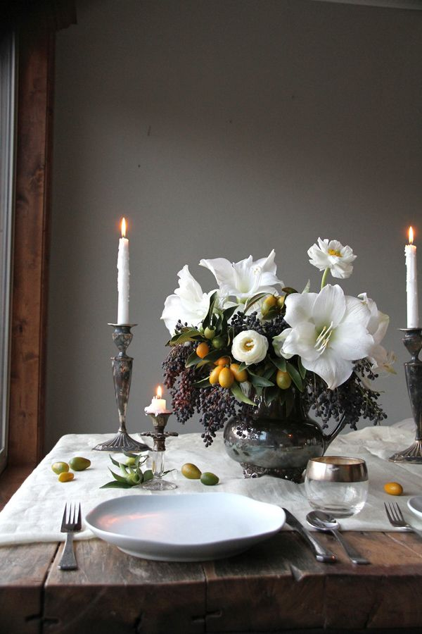 Vt Home How To Set Holiday Table Visual Therapy