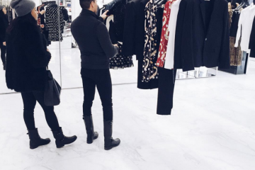 Jesse Garza shopping